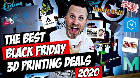 The Best Black Friday 3D Printing Deals for 2020 | Resin & FDM 3D Printer Deals!