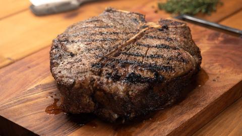 Reverse Seared Porterhouse Steak Recipe | Char-Broil