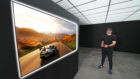 LG's New HUGE Gaming OLED Display...