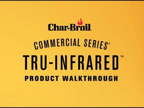 Commercial Series TRU-Infrared Gas Grills | Char-Broil