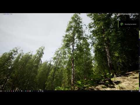MAWI Birch Forest Biome | Strong Wind Test