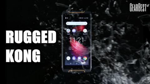 CUBOT King Kong 3 Rugged Phone - GearBest