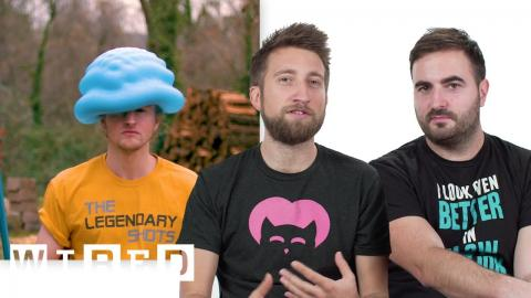 The Slow Mo Guys Break Down Slow Motion Videos | WIRED