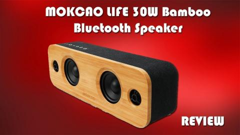 Mokcao Soundboom Bluetooth Speaker Review