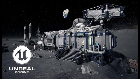 Lunar Modular Base - Unreal Engine 4