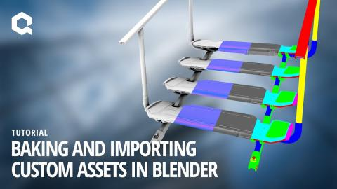 Baking and Importing Custom Assets in Blender