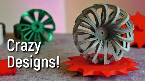 3D Printing your Wobbly, Whacky Wheel Designs! Part 1
