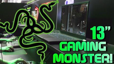 Gaming On A 13-Inch Laptop? + Quartz Pink Peripherals! [Razer]