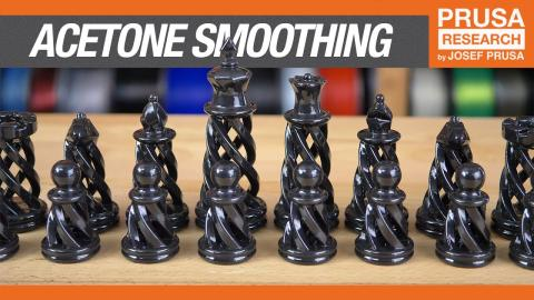 Improve your prints with acetone smoothing