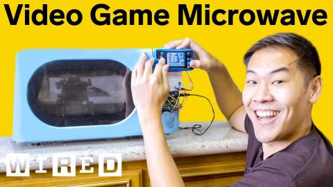 Video Game Microwave That Only Cooks While I Play | Hack Job | WIRED