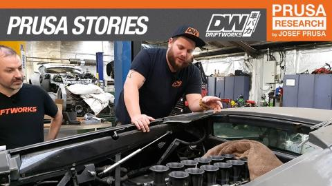 Driftworks: 3D printing custom car parts in action