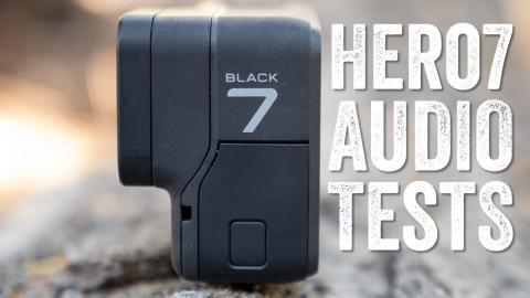 GoPro Hero 7 Black Audio Mic Test/Samples