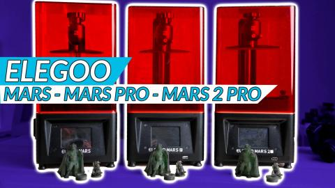 Elegoo Mars / Mars Pro / Mars 2 Pro: Which one is right for you?