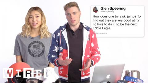 US Olympic Athletes Answer Olympics Questions From Twitter   Tech Support   WIRED