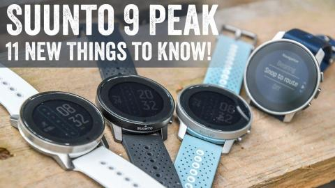 Suunto 9 Peak Hands-On: 11 New Things To Know!