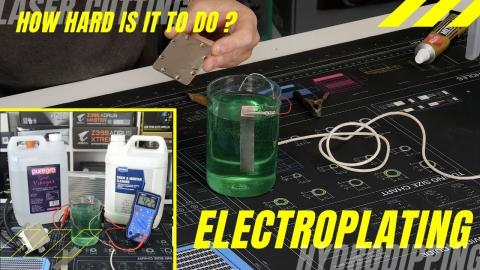James Mods: ELECTROPLATING at Home (How To Guide!)