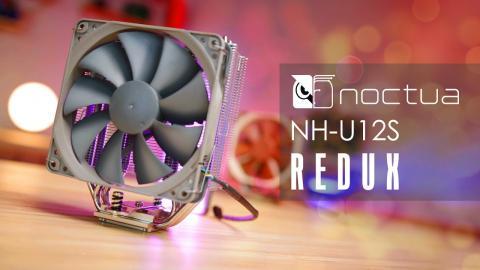 Noctua's NEW CPU Cooler - NH-U12S REDUX Review