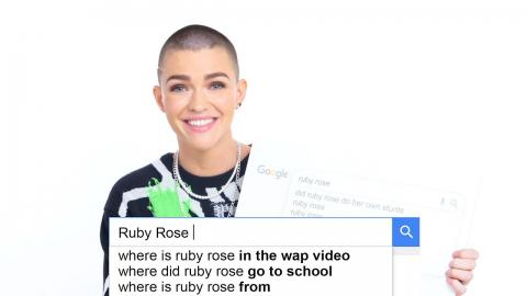 Ruby Rose Answers the Web's Most Searched Questions | WIRED