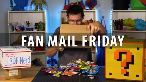 Fan Mail Friday - Rylee Gets a Geeetech E180 / Joel Gets SNACKS!
