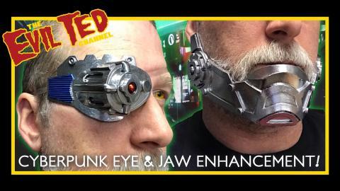 Making Cyberpunk Eye & Jaw enhancement / patterns