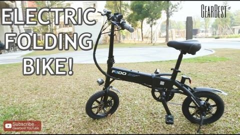 Folding Electric Bike FIIDO D1 GearBest