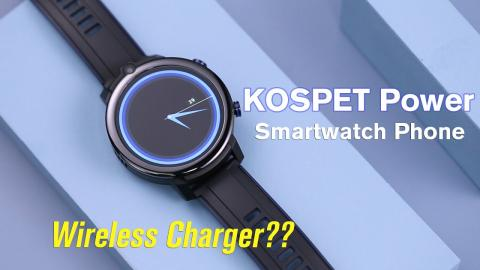 A Smartwatch Phone with Wireless Charger!