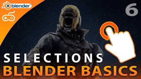 Using Selections - #6 Blender Beginner Modelling Tutorial Series