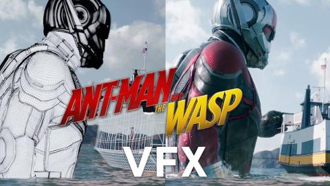 How Marvel Built the VFX in Ant-Man and the Wasp | WIRED