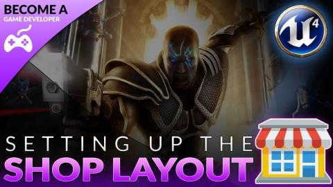 Shop Interface - #47 Creating A Role Playing Game With Unreal Engine 4