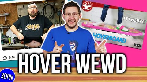 Hover Wewd - 3D Printing Bobby Duke & The Hacksmith TOGETHER?!