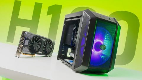 What Was Cooler Master THINKING?  H100 ITX Case Review