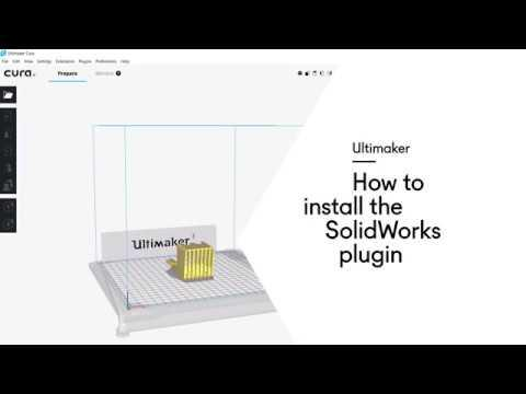 Ultimaker: How to install the SolidWorks plugin