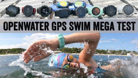 Openwater Swim Mega GPS Test // Garmin, Suunto, Polar, Apple, COROS