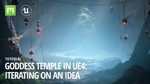 Goddess Temple in UE4: Iterating on an idea