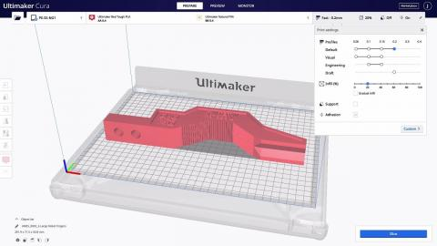 Ultimaker: Intent profiles in Ultimaker Cura