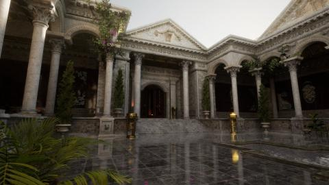 Roman Courtyard - Unreal Engine 4