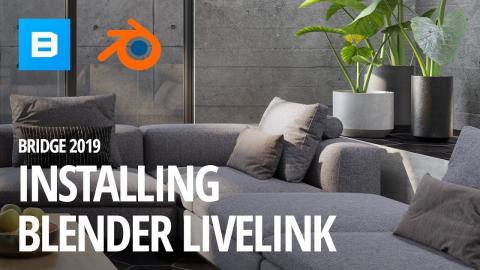 Installing the Blender 2.8 Live Link | Quixel Bridge 2019