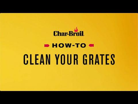 How to Clean Your Grates | Char-Broil®