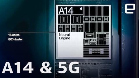 Apple's new A14 processor & 5G in under 5 minutes