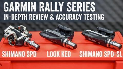Garmin Rally Power Meter Review: Shimano SPD-SL/SPD/LOOK KEO