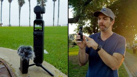 DJI Pocket 2 Review: Camera, Gimbal and Wireless Mic That Fits Into Your Pocket!