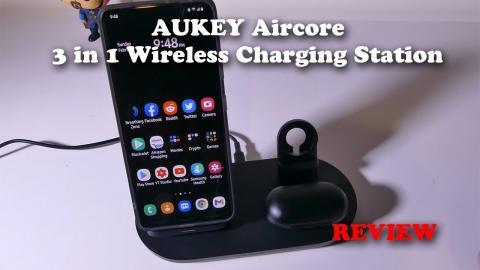 AUKEY Aircore 3 in 1 Wireless Charging Station for iPhone REVIEW