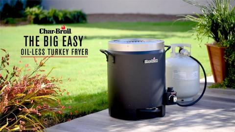 The Big Easy Oil-Less Turkey Fryer | Char-Broil®
