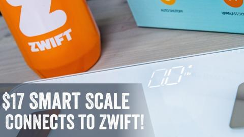 $17 Smart Weight Scale Syncs to Zwift