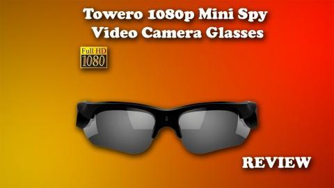 Towero 1080p HD Video Camera Glasses Review