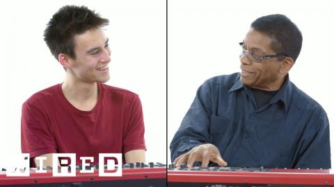 Musician Explains One Concept in 5 Levels of Difficulty ft. Herbie Hancock & Jacob Collier | WIRED