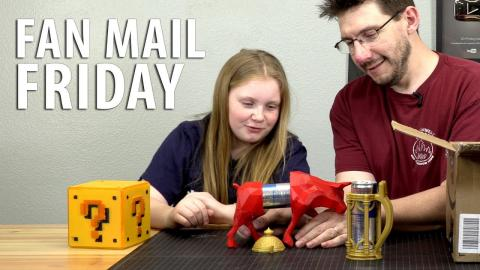 Fan Mail Friday - A Redbull IN A Red Bull!
