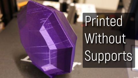 Design Tips for Support Free 3D Printing Models (FDM)