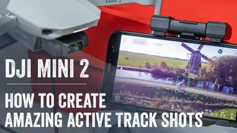 DJI Mini 2: How to create ActiveTrack-like Sports Shots!