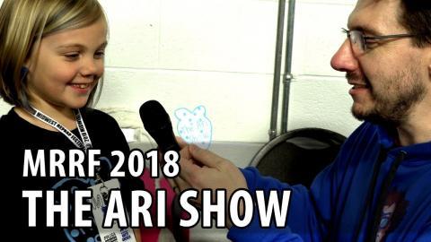 #MRRF2018 Best Interview The Ari Show // Maker's Muse Egg // Barnacules Nerdgasm